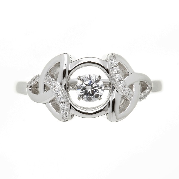 Irischer Ring aus der Damhsa Kollektion Trinity knot