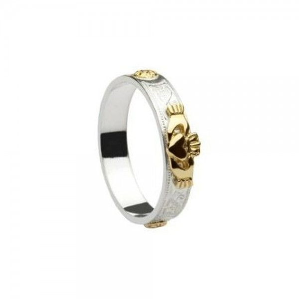 Irischer Schmuck Claddagh Ring Gold 585