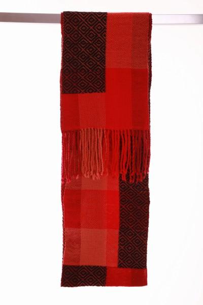 Handgewebter Schal Stendal aus Wolle