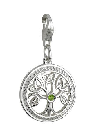 Keltisches Armband Bead Baum des Lebens Silber