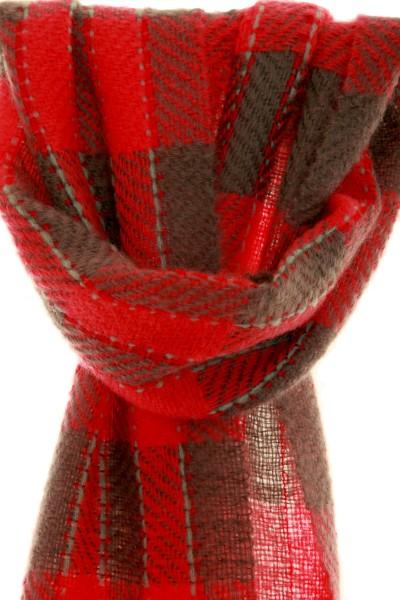 Flower of Bergamont handgewebter Schal