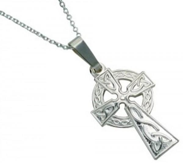 Klassisches Keltisches Kreuz aus Silber 925