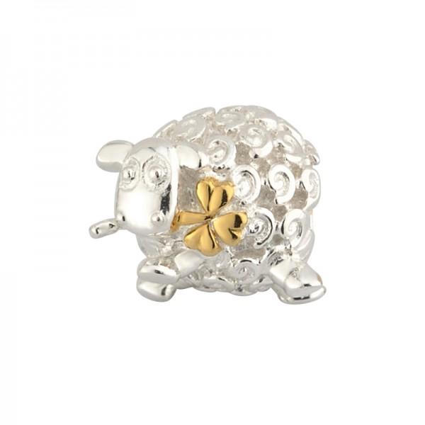 Celtic Bead Schaf aus Silber vergoldet