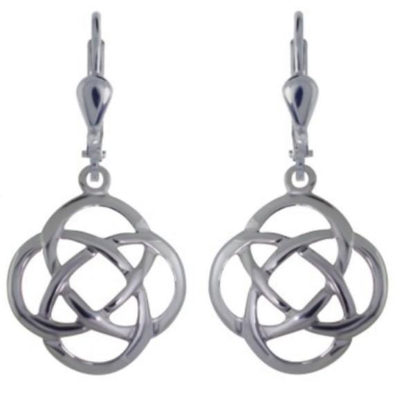 Keltische Ohrringe Liebesknoten