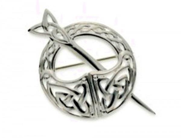 Brosche Keltische Knoten Tara Kollektion Silber 925
