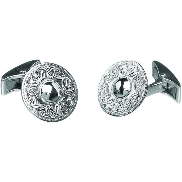 Keltische Manschettenknöpfe Silber 925 klein