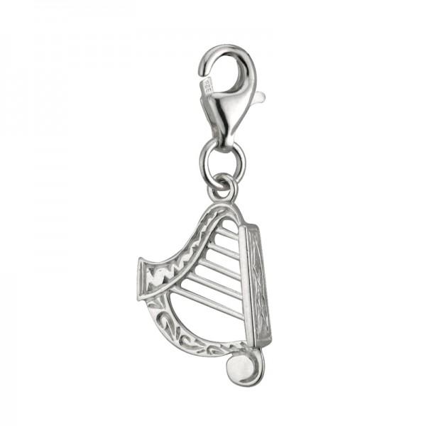 Keltisches Armband Harfe Silber