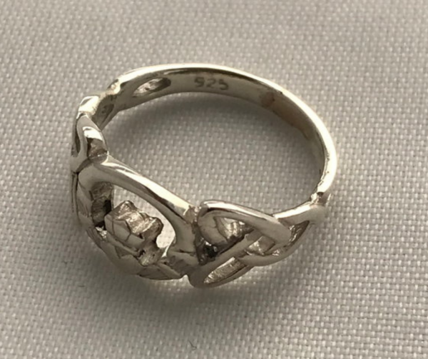 Claddagh Ring Kinder in Silber 925