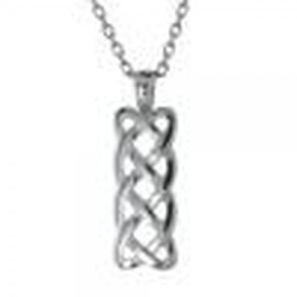 Irische Kette keltischer Knoten Silber 925