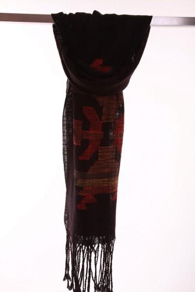 Handgewebter Schal Elegancy Leinen