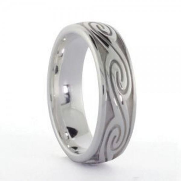 Damenring keltische Wellen aus Silber 925