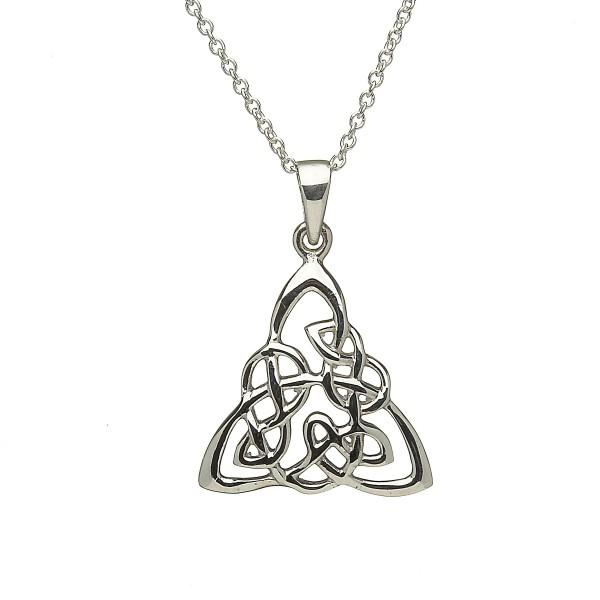 Geflochtener keltischer Anhänger Trinity Knot