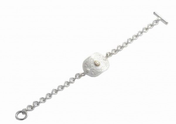 Arda Armband Tiffany Silber und Gold