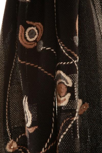 Handgewebter Schal Classy aus Alpaka Wolle