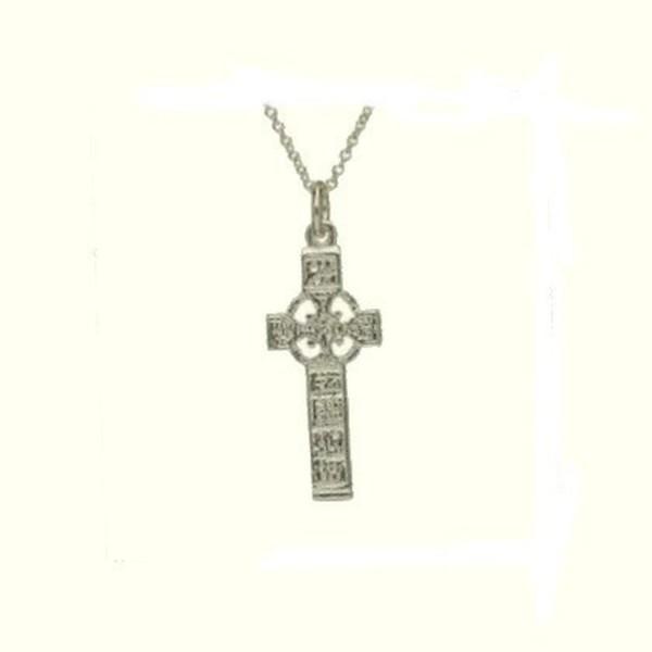 Irisches keltisches Kreuz Silber 925
