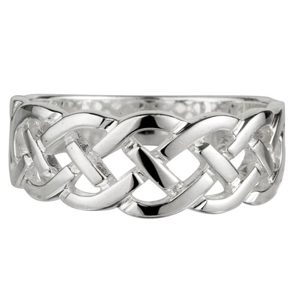 Keltischer Ring Silber 925 Trinity knot