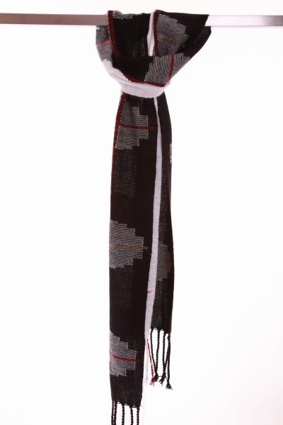 Handgewebter Schal Yin Yang - Iskon Mode