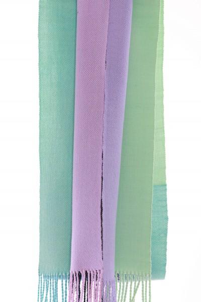 Handgewebter Schal Double scarf