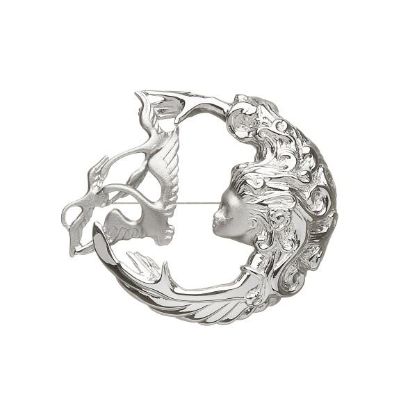 Keltische Silber Brosche Keltische Knoten Children of Lir