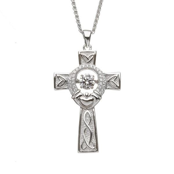Keltisches Kreuz Claddagh aus der Damsha Kollektion