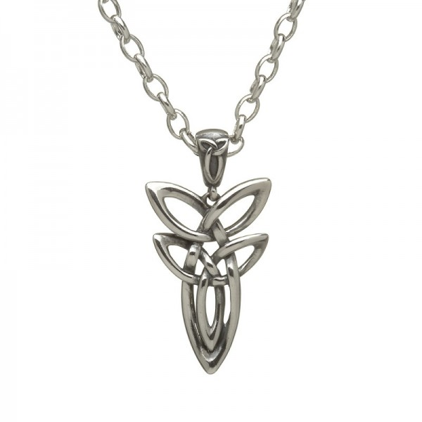 Keltische Kette doppelter Trinity Knot