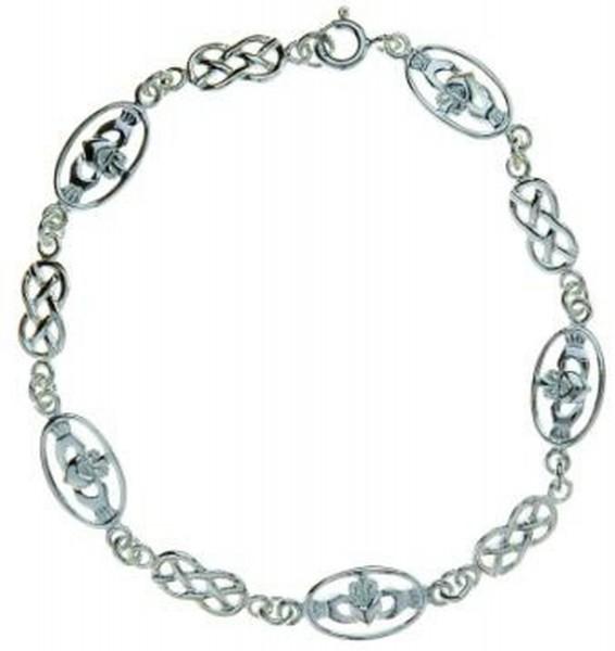 Armband Claddagh mit keltischem Design