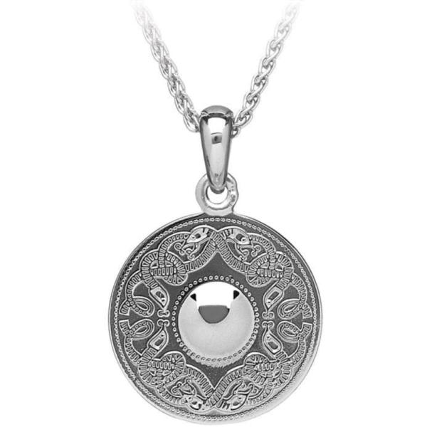 Irische Kette Celtic Warrior keltischer Krieger Silber 925