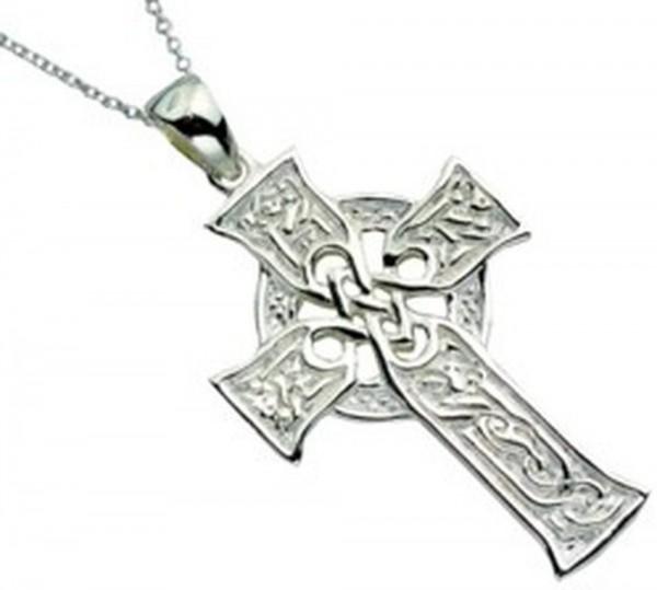 Keltisches Kreuz Silber 925 Die vier Gospel