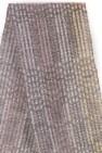 Handgewebter Schal Silver aus Mohair