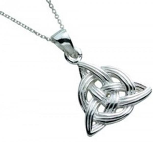 Irischer Anhänger Trinity Knot Silber 925