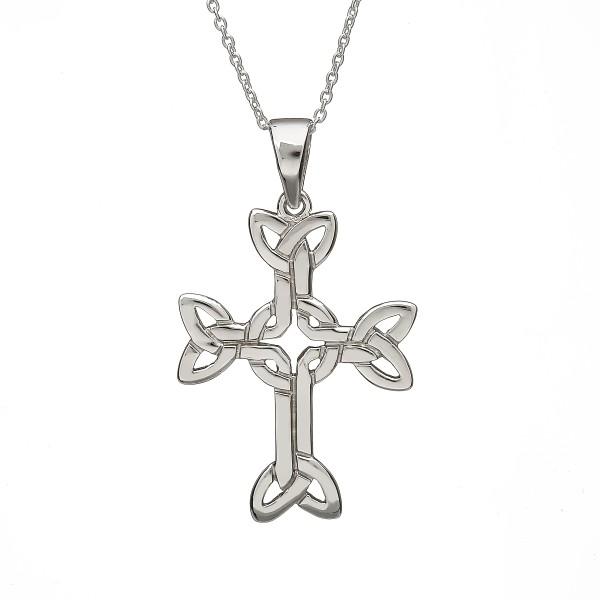 Keltisches Kreuz Trinity knot aus Silber 925