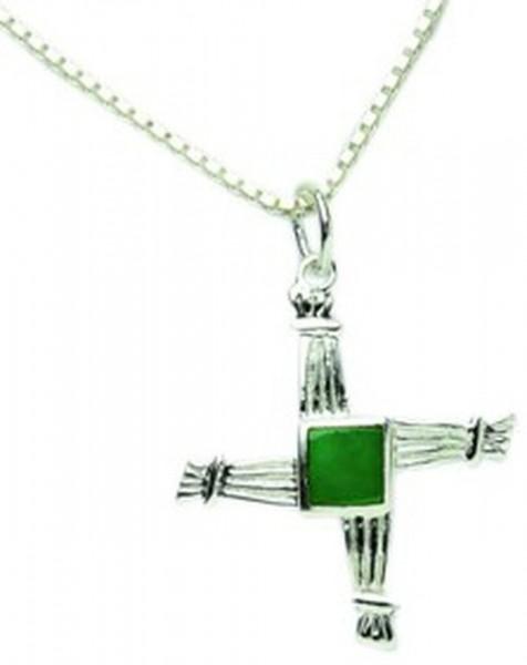 Keltisches St. Brigid Kreuz aus Silber (klein)