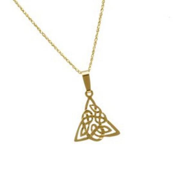 Keltischer Anhänger in 10 Karat (416) Gold