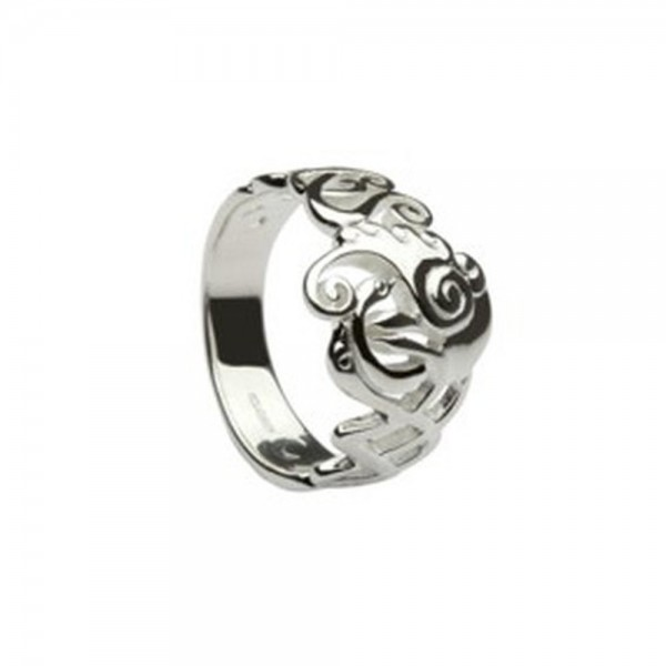 "Keltischer Ring Silber ""Children of LIR"" Kollektion"