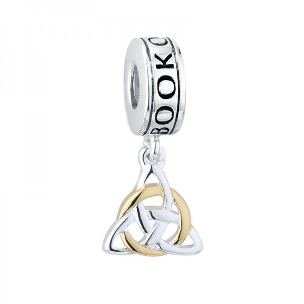 Keltisches Armband Beads Trinity Knot Irland