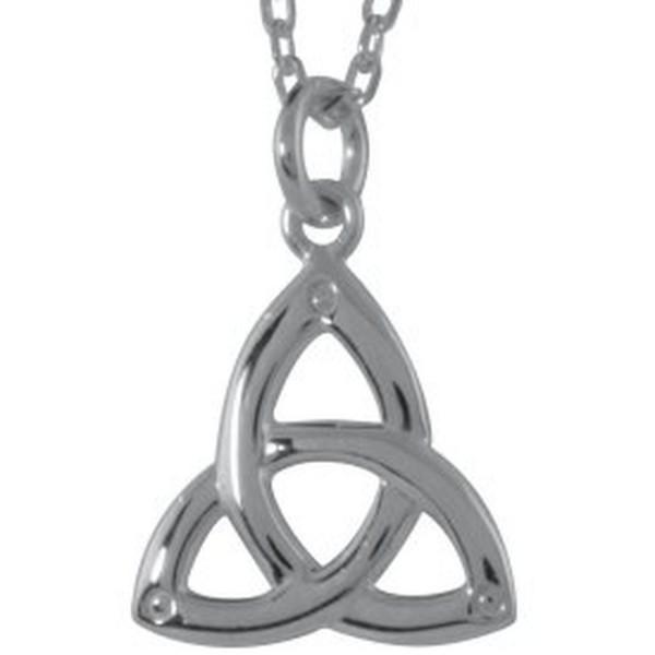 Irischer Anhänger Trinity Knot