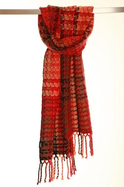 Flame Handgewebter Schal