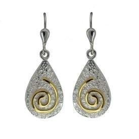 Keltische Ohrringe Newgrange