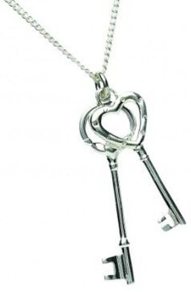 Keltische Kette Silber 925 Schlüssel von Irland