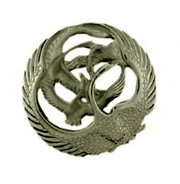 Silber 925 irische Brosche rund Children of Lir Kollektion