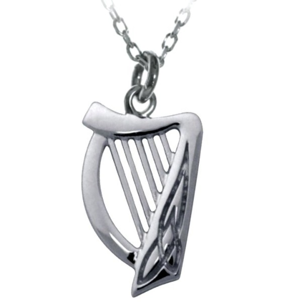 Keltische Anhänger Harfe