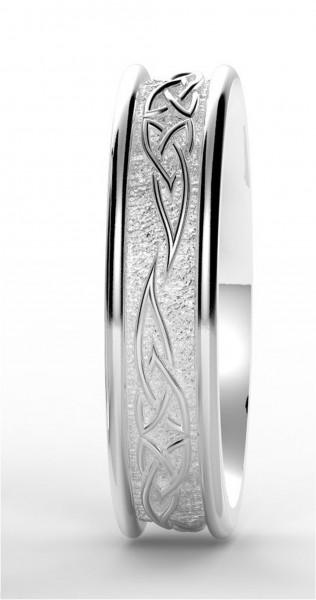 Massiver Keltischer Herrenring aus Silber 925