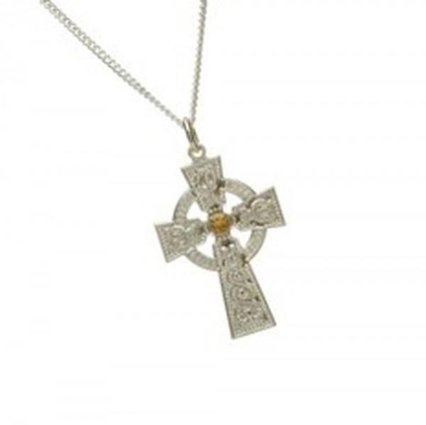 Keltisches Kreuz Silber Arda