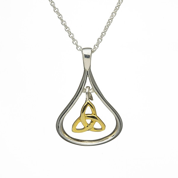 Silber Anhänger mit Trinity Knot