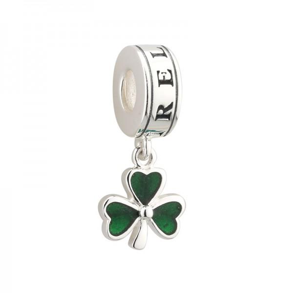 Celtic Bead Kleeblatt Silber
