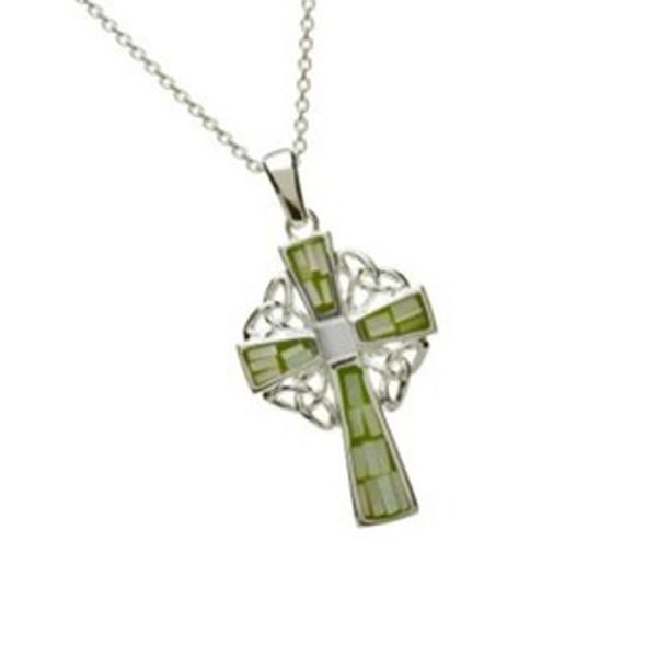 Keltisches Silberreuz 925 mit Kette