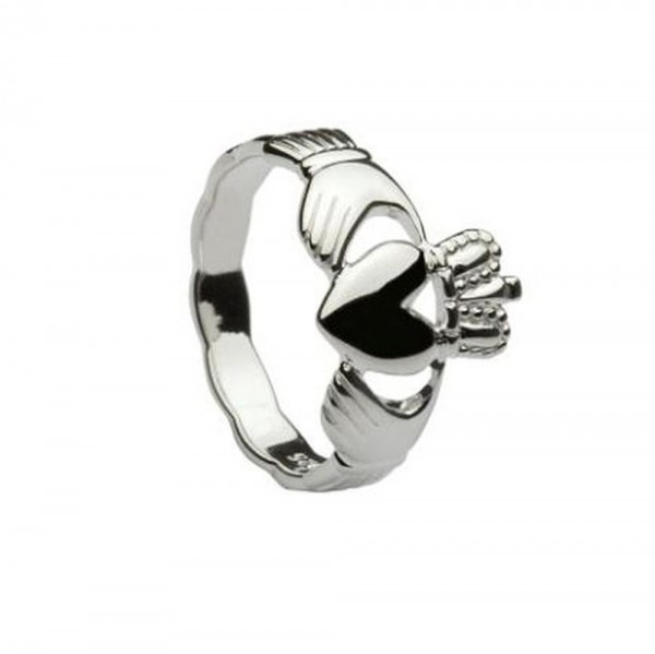 Irischer Claddagh Ring Silber 925