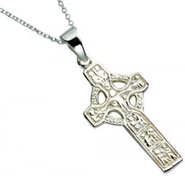 Keltisches Kreuz Duleek Silber 925