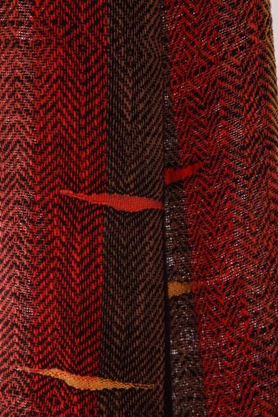 Handgewebter Schal Afrika Iskon Mode